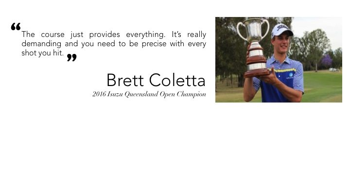 The Brisbane Golf Club Brett Coletta