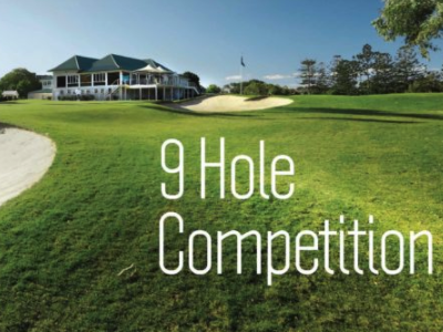 9 Hole Competition The Brisbane Golf Club