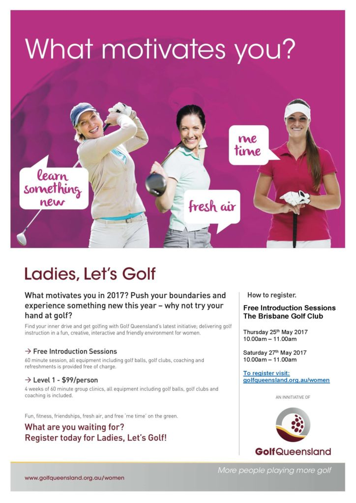 Ladies Lets Golf Come & Try May 2017